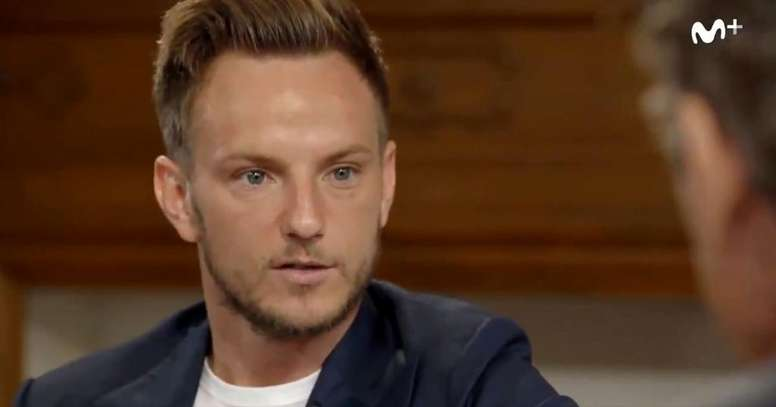 Rakitic revealed all. Screenshot/MovistarFutbol