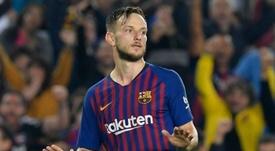 Barcelona descarta vender Rakitic ao Atlético de Madrid. AFP