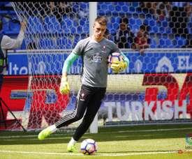 Iván Villar jugará cedido en el Levante. LaLiga