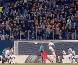Ivanovic puts Zenit ahead. Twitter