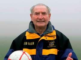 Powell entrenó hasta los 93 años. TeamBath
