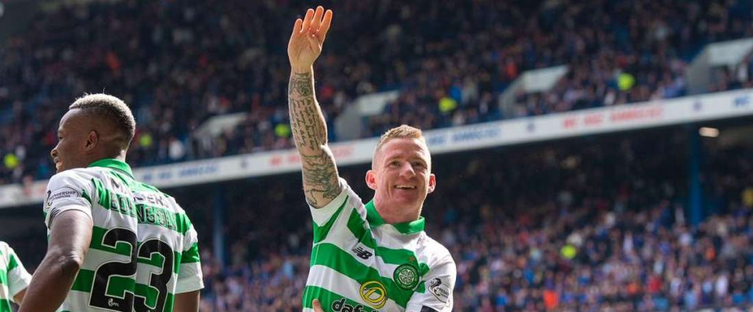 Le 'Old Firm' est vert ! Twitter/CelticFC