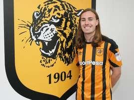 El centrocampista ya luce la elástica de los 'tigers'. HullCity