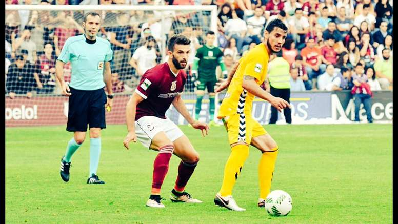 Jacobo Trigo vestirá los colores del Racing de Ferrol la próxima temporada. Jacobotrigo
