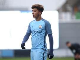 Jadon Sancho es una de las promesas del City. ManchesterCity