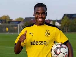 El Borussia ficha a Bynoe-Gittens, ¿un Sancho de 16 años? Twitter/BVB