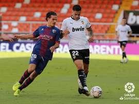 Seoane cree que la SD Huesca mereció más en Mestalla. LaLiga