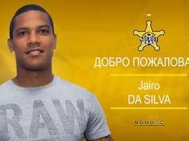 El brasileño llega como cedido desde PAOK. Sheriff Tiraspol
