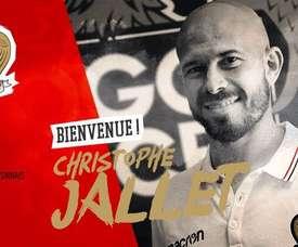 Jallet, nuevo jugador del Niza. OGCNice