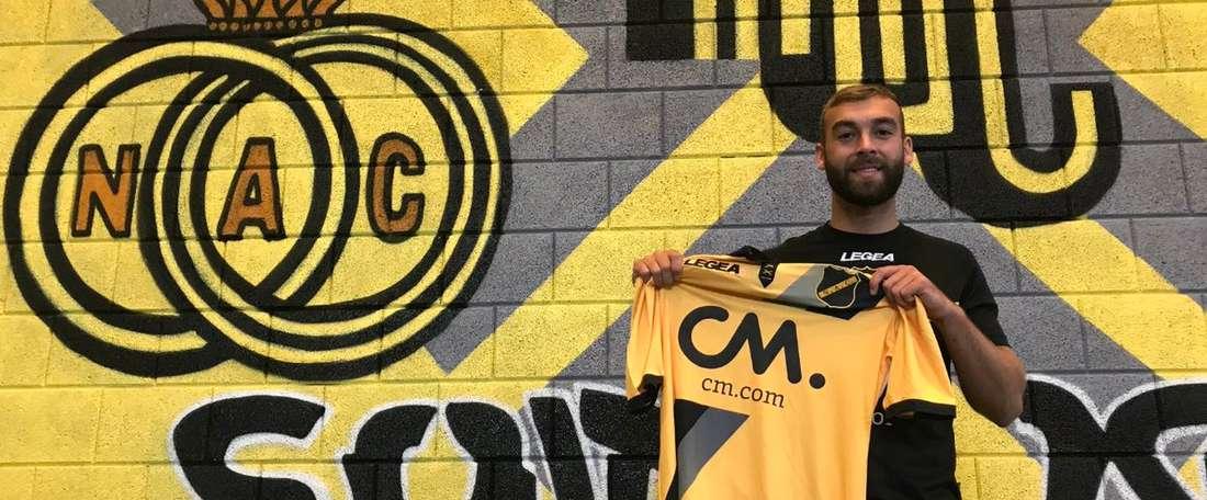 James Horsfield ya es del NAC Breda a título definitivo. NacBreda