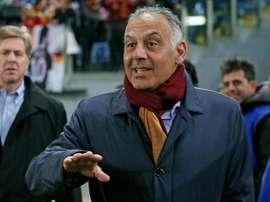 Presidente da Roma não cortou relações com o Barcelona. Twitter @Football_Talk