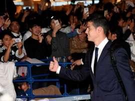 James Rodríguez, joueur du Real Madrid, ex du Monaco. EFE