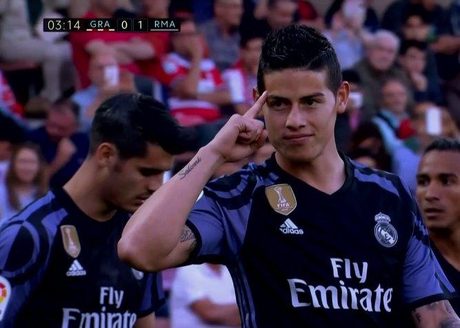 James pone en aprietos a Zidane  ¡Doblete en sólo 10 minutos! - BeSoccer 5fdd8e7a48759