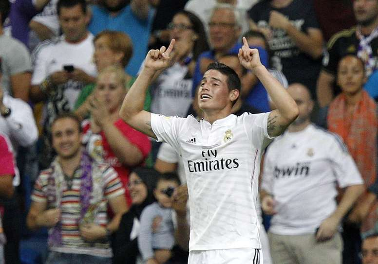 James Rodriguez is unlikely to remain at Real Madrid. EFE