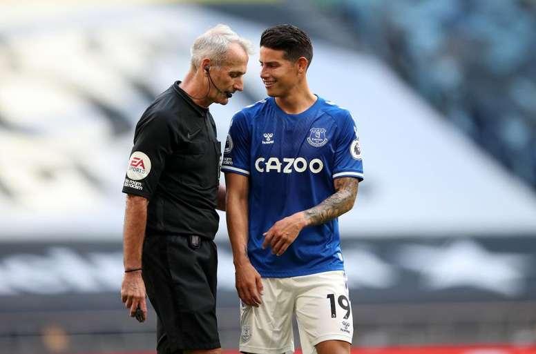 Everton derrotou o Tottenham por 1 a 0 na estreia pela Premier League. EFE