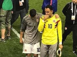 James y Keylor se conocieron en el Madrid. ESPN
