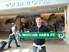 El australiano ya se encuentra en Israel para someterse a las pruebas médicas. MaccabiHaifaFC