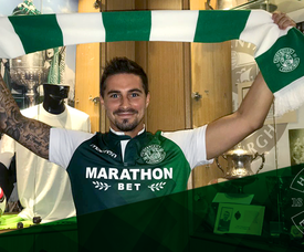 Maclaren had a successful spell on loan with the club last season. Twitter/HibsOfficial