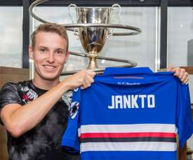 Jankto ya es jugador de la Sampdoria. Twitter/Sampdoria