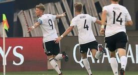El Bayern quiere cerrar el fichaje de Jann-Fiete Arp. EFE