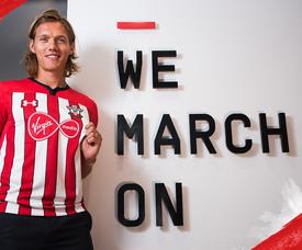 Vestergaard is a Danish international. Twitter/SouthamptonFC