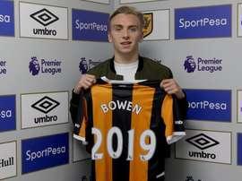 Bowen habría rechazado varias ofertas. HullCity