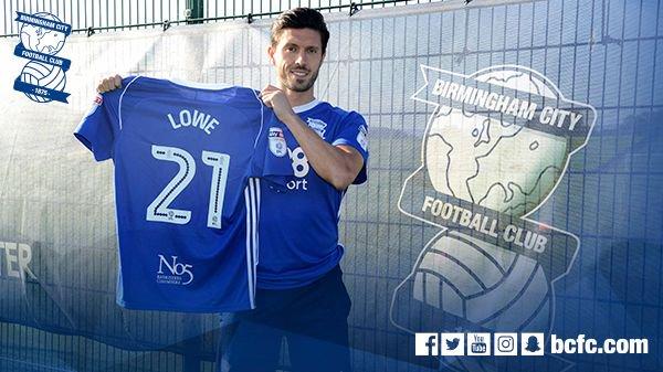 Lowe ya luce nuevo dorsal con el conjunto de Redknaap. BirminghamCityFC