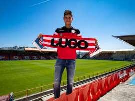 Jaume Grau espera seguir aportando al Lugo. Lugo