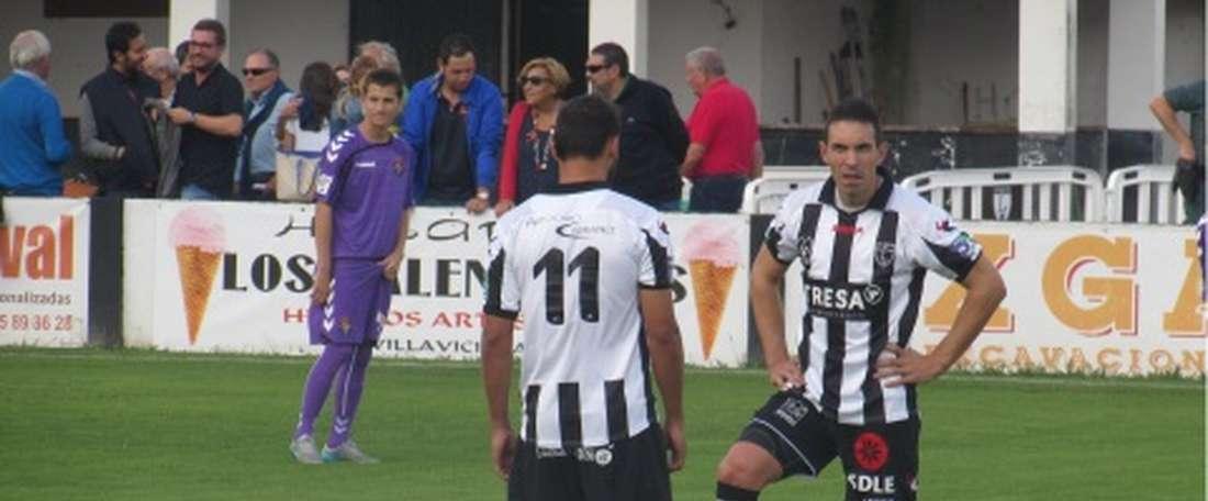 El Burgos no podrá contar con los servicios del centrocampista hasta abril. BurgosCF