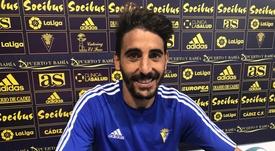 Carpio parece totalmente recuperado de su lesión. CádizCF