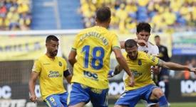 Javi Castellano no le encontró explicación a la derrota. UDLP_Oficial