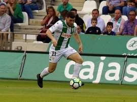 El Córdoba recibió cuatro goles. Twitter/Cordobacfsad
