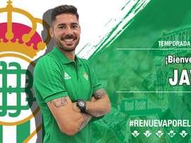 Javi García has joined Betis. RealBetis