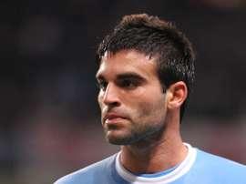 Javi Garrido, en su etapa en el Manchester City. MCFC