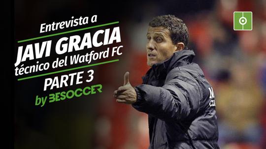 Javi Gracia le desea suerte al Málaga para el ascenso. BeSoccer