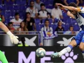 Javi López fue clave para que el Espanyol ganara. Twitter/RCDEspanyol