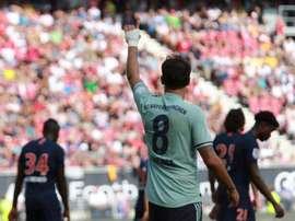Martinez scored in the International Champions Cup game against PSG on Saturday. FCBayern