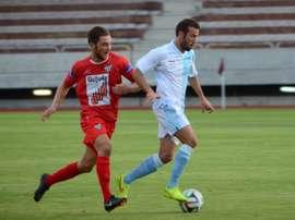 Javi Moreno ha pasado, entre otros tantos equipos, por la SD Compostela. Compostela
