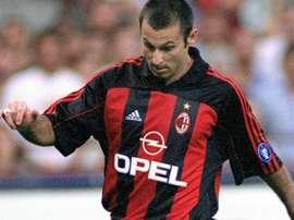 Javi Moreno militó en grandes equipos cuando era jugador. Dnamilan