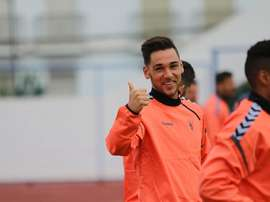Javi Moreno volvió a lesionarse. MarbellaFC