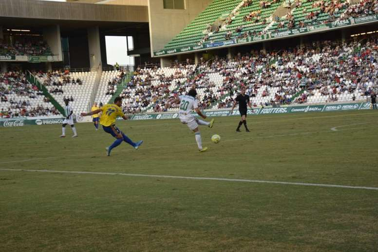 El Córdoba logró la victoria sobre la bocina. CádizCF