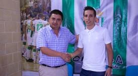 Javi Sánchez, presentado con el Córdoba Futsal. CordobaFutsal