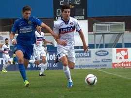 Bonilla jugará la próxima temporada en el Pontevedra, tras su paso por el Leioa. CFFuenlabrada