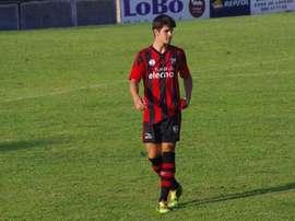 Javier Murua, nuevo central de las categorías inferiores del Athletic. Twitter