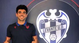El Atlético Levante fichó a Javier Ontiveros. Twitter/LUDatletico