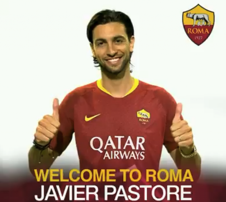 Javier Pastore: Roma Announce Signing Of Pastore