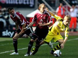 Javier Pinola fue nombrado mejor argentino de la historia de la Bundesliga. fcn.de