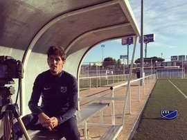 Javier Poves ahora es presidente y técnico de un club de Móstoles. Mostolesbalompié