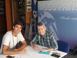 El Alcoyano ha cerrado un acuerdo con el centrocampista Ribelles. CDAlcoyano
