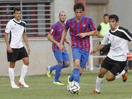 Javier Ribelles asegura que tienen confianza en la victoria. LevanteUD